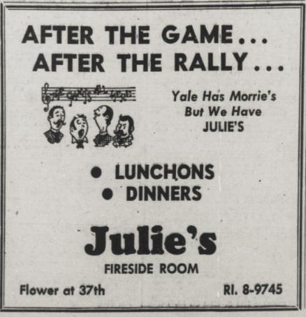 Image result for julie restaurant usc
