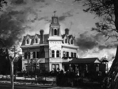 21 Chester Place as it appeared in  The Addams Family  in 1964. (MGM Television)